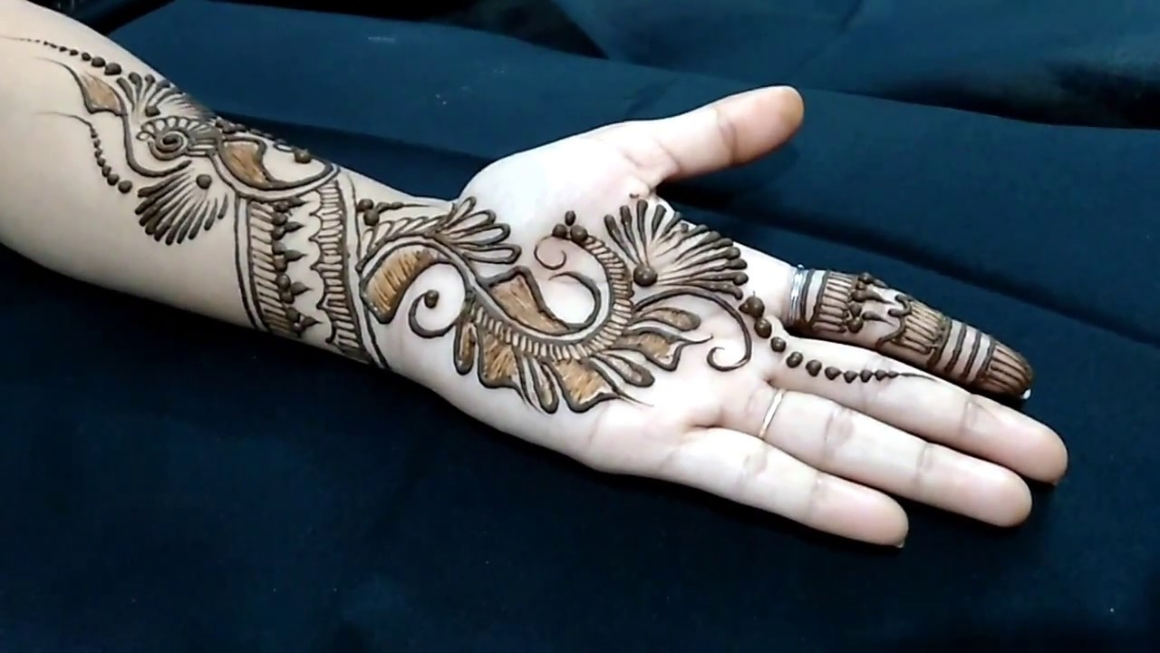 Mehndi design 2017 new style - New Modern Style Arabic Mehndi Or Henna Design For All Occasions 2017 Step By Step Tutorial 2
