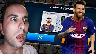 FICHO A MESSI Dream league soccer 18 Cap 6