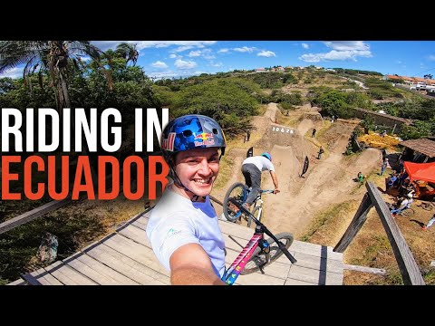 RIDING THE GREATEST MTB DIRT JUMPS IN ECUADOR!!