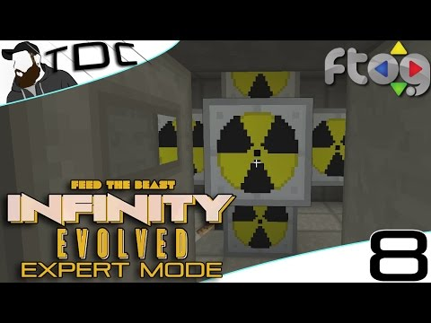 MINECRAFT MODS FTB Infinity Evolved | IC2 NUCLEAR REACTOR! | Episode 8 (EXPERT MODE FTOG SMP)