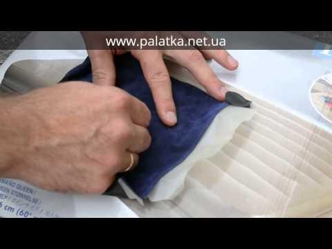 Как заклеить надувной матрас на велюровой поверхности