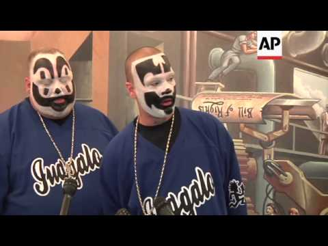 Insane Clown Posse sues feds over