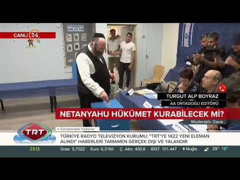 İsrail'de ilk seçim sonuçları