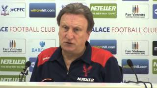 Neil Warnock's Pre-Manchester City Press Conference