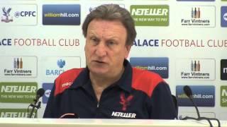 Neil Warnock's Pre-Manchester City Press Conference