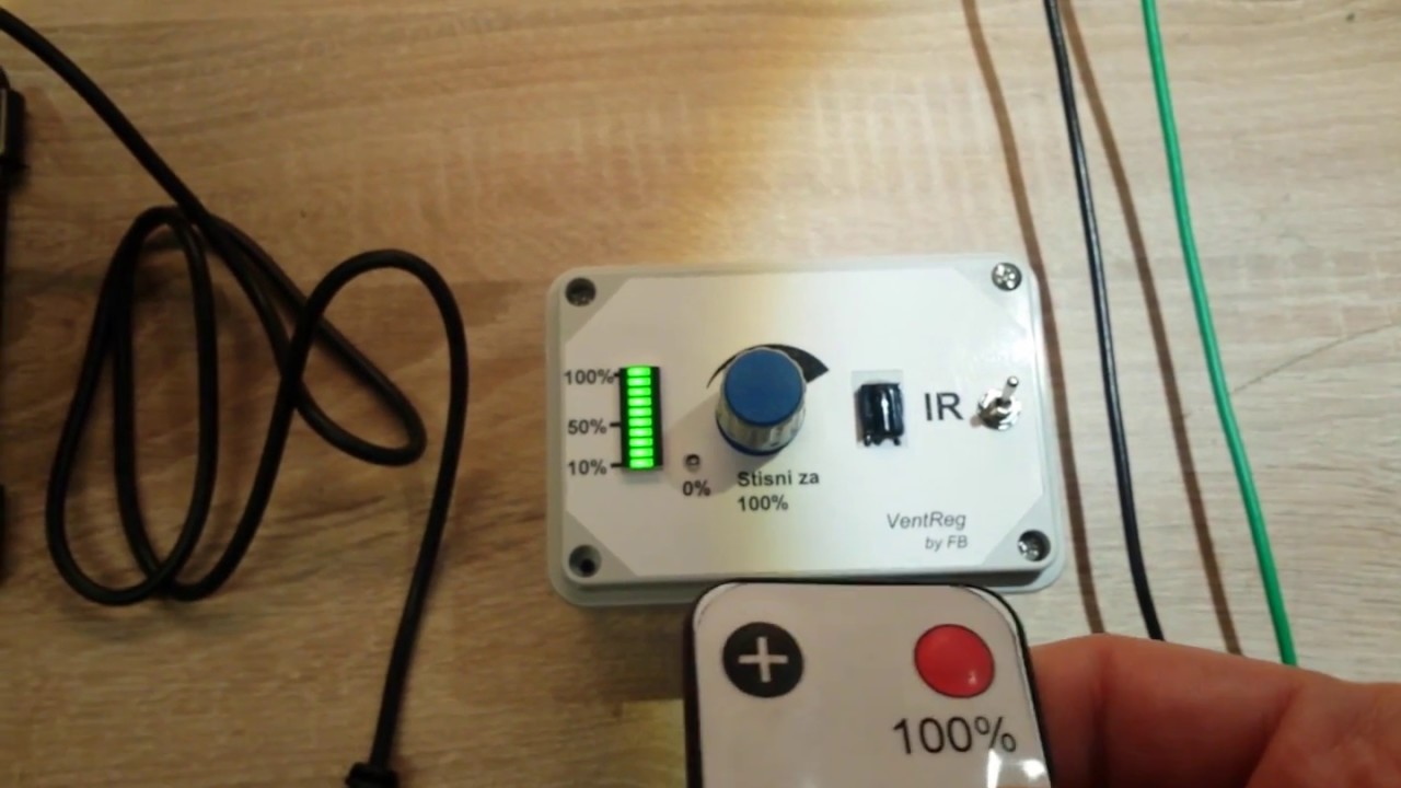 Fan speed regulator with remote controller youtube aloadofball Gallery