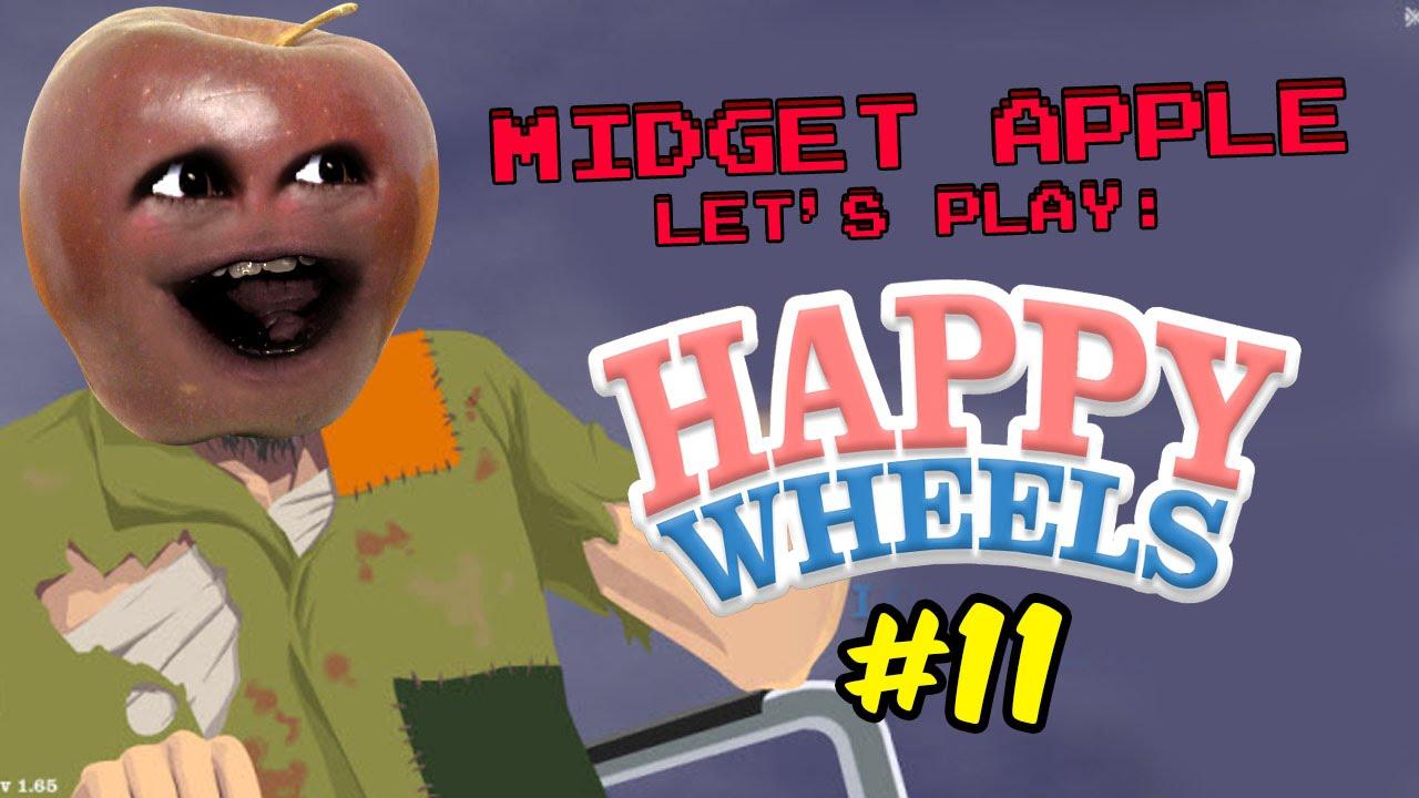 Midget apple let 39 s play happy wheels 11 pumpkin power - Let s play happy wheels ...