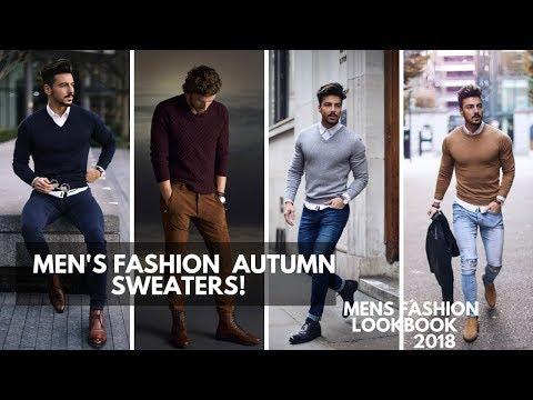 Men's Fall Sweaters | Style Inspiration 2018 | Lookbook | Streetwear | Men\'s Fashion