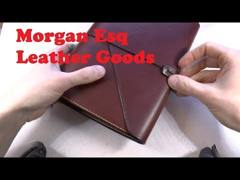 Morgan Esq Leather Goods Review