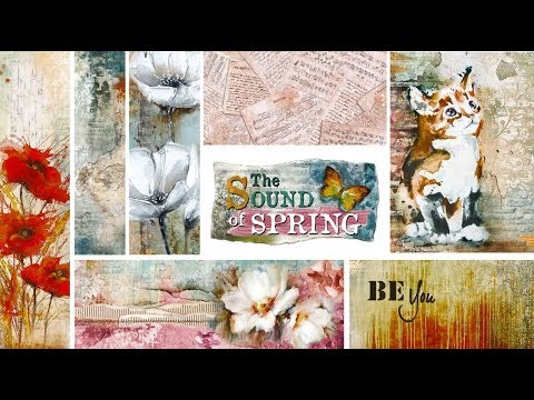 """Ciao Bella Paper Collezione """"The Sound of Spring"""""""