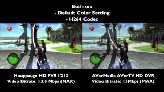 Hauppauge HD PVR 1212 & AVerMedia AVerTV HD DVR (PCIe ver.) Comparison