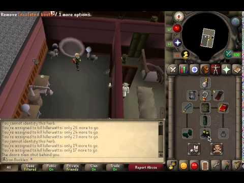 Runescape 2007 - Killerwatts Task Slayer Guide