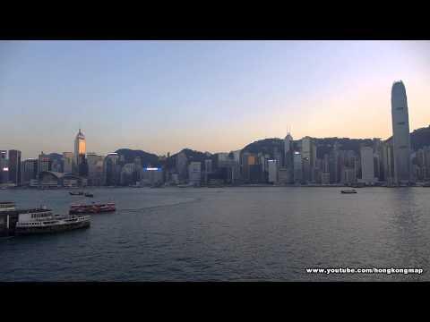 【Sunset】Victoria Harbour by Panasonic DMC LX-7