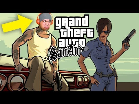 IM TAKING CARE OF ALL THESE BUSTAS!! [GTA: SAN ANDREAS] [#03]