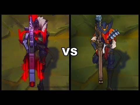 PROJECT Jhin vs High Noon Jhin Best Jhin Skins Comparison (League of Legends)