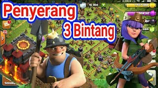 Troops Ini Bisa Menciptakan 3 Bintang. Strategi Attack Miner Th 10 CLASH OF CLANS