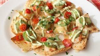 Shrimp & Jalapeno Nachos - Cinco De Mayo Party Food Idea