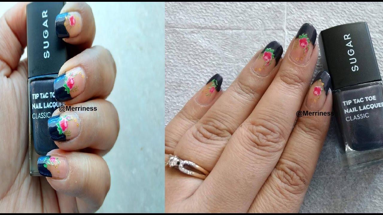 Beginners Nail Art Basic Nail Design Easy Nail Art Tutorial