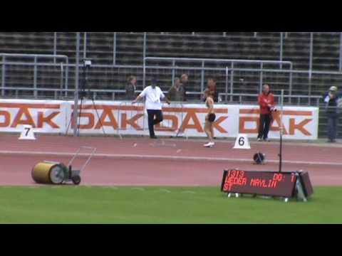 Deutsche Jugend-Meisterschaften Ulm 2010 - 4x100m women Finale