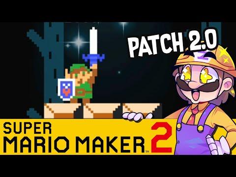 Version 2.0! Zelda & Speedruns | SUPER MARIO MAKER 2