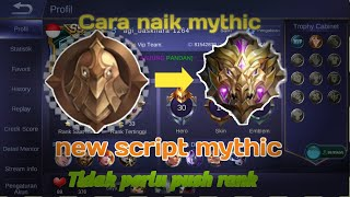 Script MYTHIC MOBILE LEGENDS NO-BANNED ANDROID