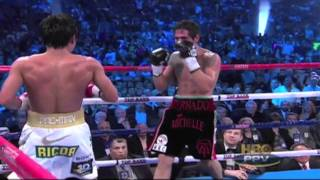 Manny Pacquiao Offense & Defense