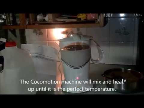 Using the Cocomotion Hot Cocoa Machine