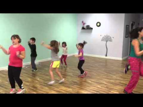"Zumba Kids Jr doing the ""Chocolate"" Song how cute!"