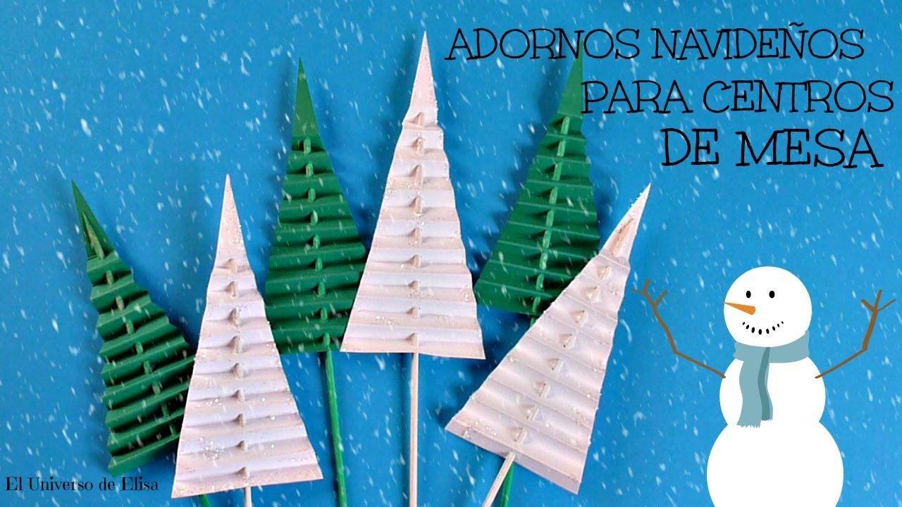 Manualidades para navidad c mo hacer un abeto de papel for Manualidades para adornos navidenos