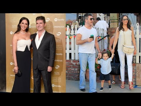 Simon Cowell son and wife 2018