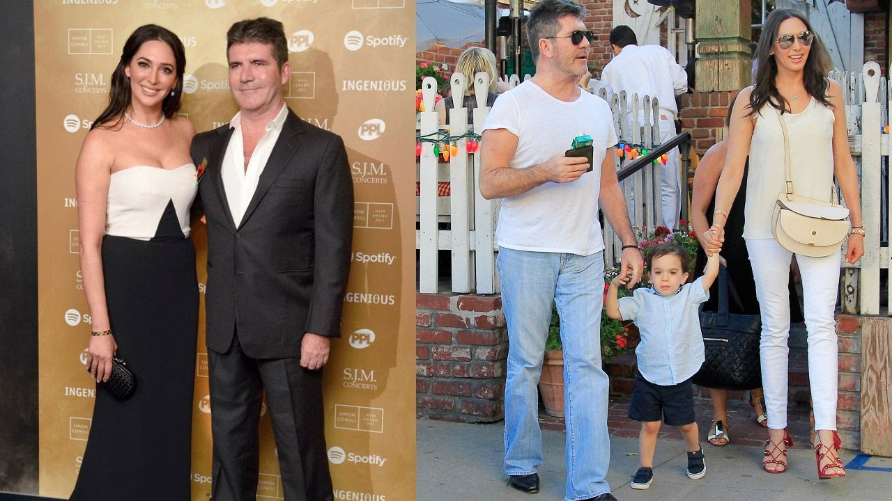 Simon Cowell son and wife 2018 - YouTube