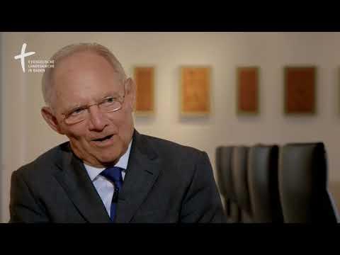 Reformationsbotschafter Wolfgang Schäuble im Interview