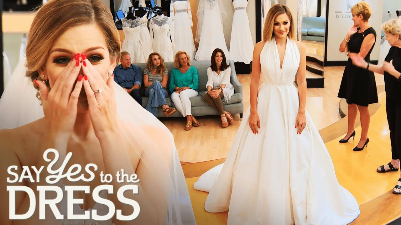 innovative design 522f5 5762d Miss America Wants a Simple & Elegant Gown | Say Yes To The Dress Atlanta