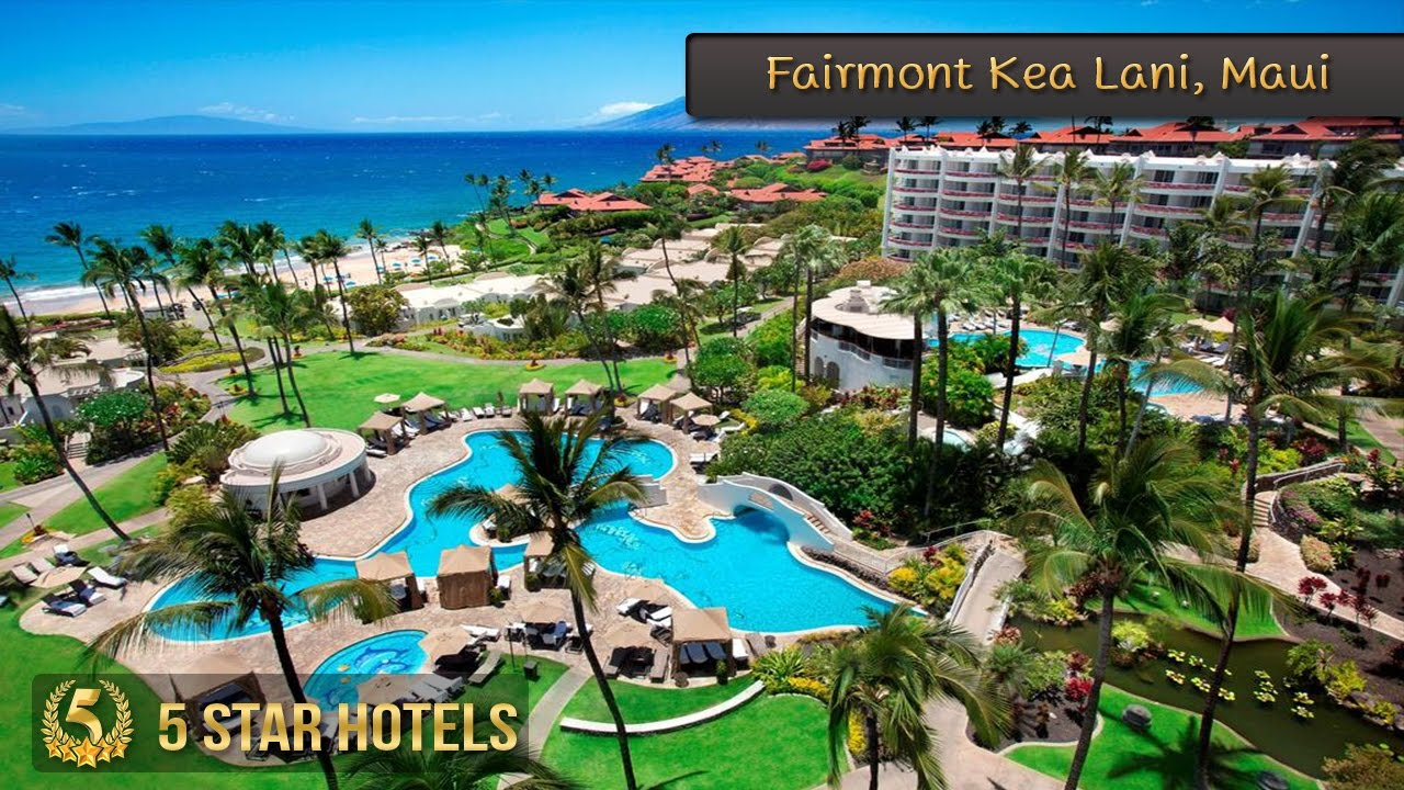 5 Star Fairmont Kea Lani Maui Hotels In Hawaii Beach USA Review