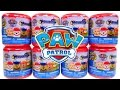 8 NEW Paw Patrol Mashems Nickelodeon Squishy Mashem Surprise Egg Toys! Marshall Rubble Rocky