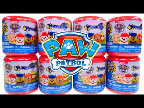 8 NEW Paw Patrol Mashems Nickelodeon Squishy Mashem Surprise Egg Toys! Marshall Rubble Rocky