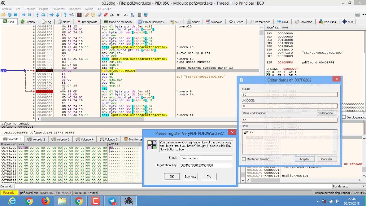 verypdf pdf2word v3 1 registration key