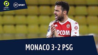 Monaco v PSG (3-2) | Ligue 1 Highlights