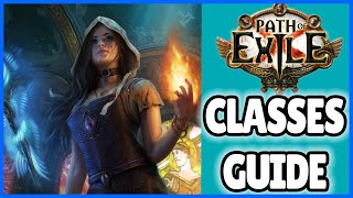 Which Class To Play ? | Path Of Exile Classes Guide Ps4 | Poe