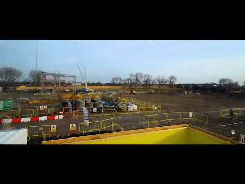 Time-lapse of new West Division Police Headquarters