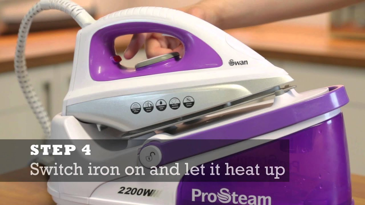 How to descale your Steam Generator Iron Tips & Tricks by Swan