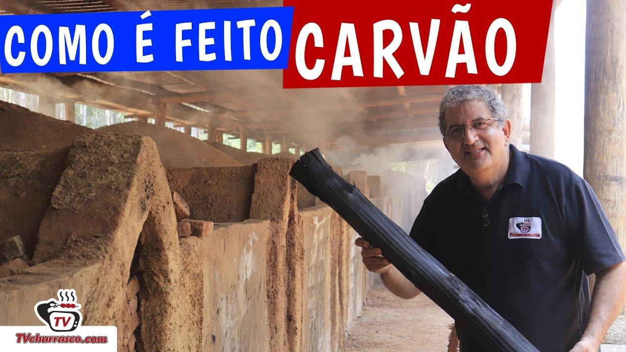COMO É FEITO CARVÃO para CHURRASCO - TvChurrasco