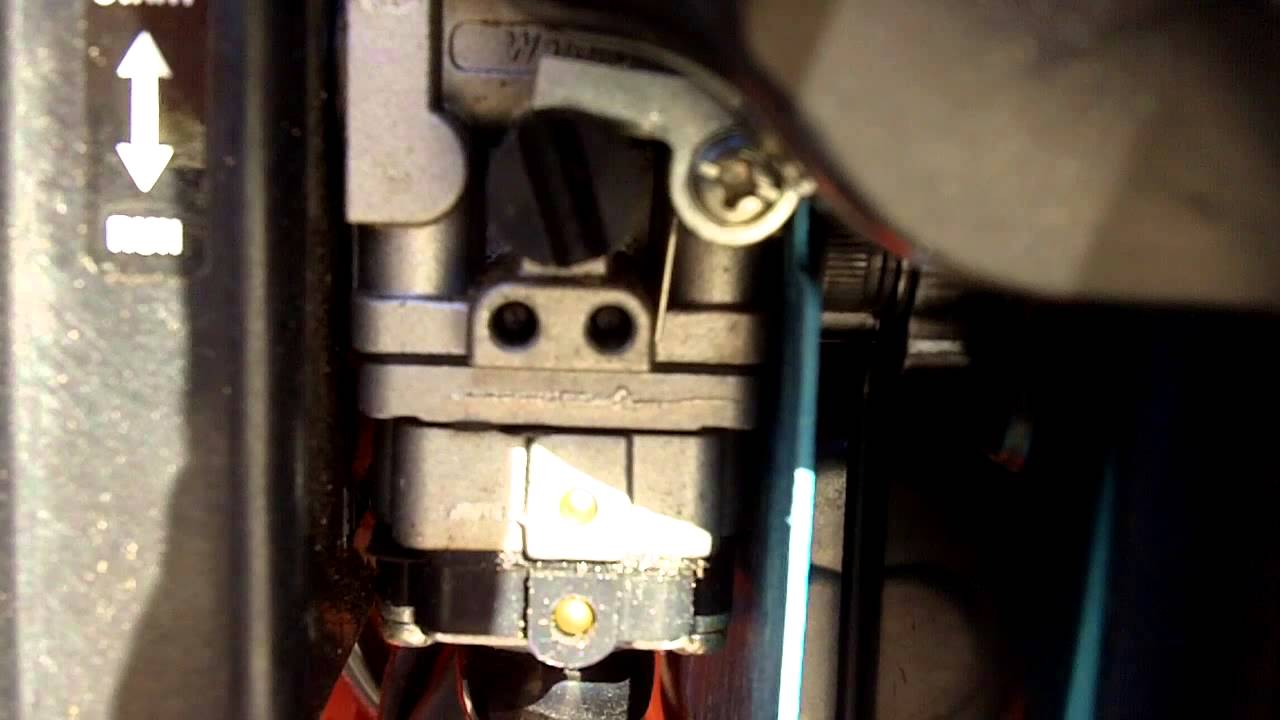 How to Adjust a Small Two Stroke Carburetor