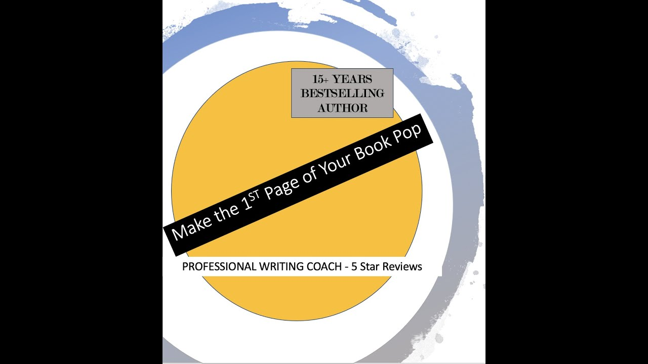 Make Your First Page Pop