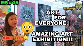 Gambar cover ART FOR EVERYONE : ART EXHIBIT AT SM MALL OF ASIA 2019