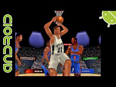 NBA In The Zone 2000  NVIDIA SHIELD Android TV  Mupen64Plus FZ Emulator 1080p  Nintendo 64