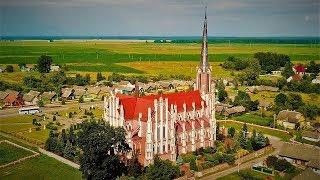 Гервяты - Костел Святой Троицы, 1903 год