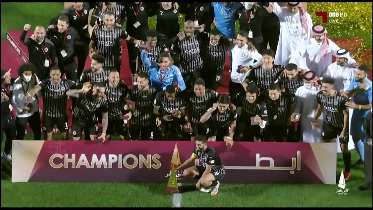 ALSADD 2/0 ALDUHAIL QATAR CUP FINAL السد / الدحيل الاهداف والتتويج
