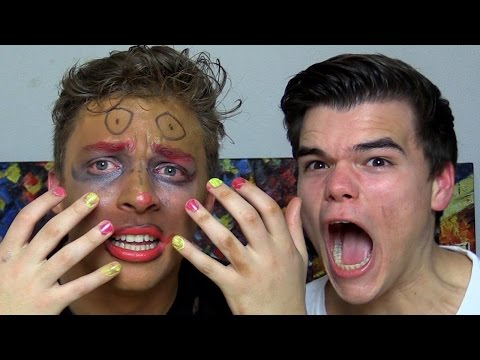 MAKEUP CHALLENGE WITH GIRLFRIEND!