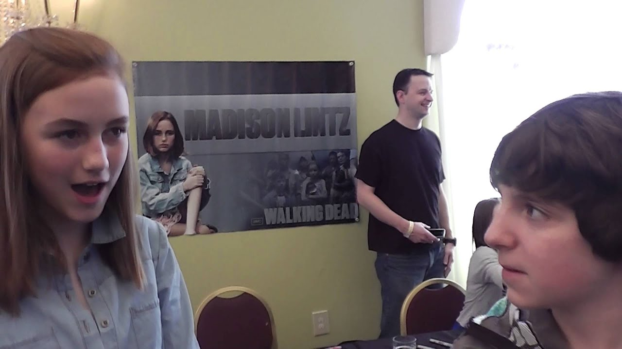 The Walking Dead New Interview 2013 Madison Lintz Sophia